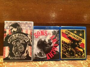Sons of Anarchy  Seasons 1, 2, & 3