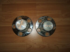 1973 GMC Truck center caps 2 only