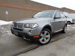 2007 BMW X3 3.0i, LOADED, NO ACCIDENTS! 416-742-5464