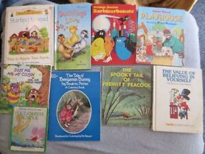 Children's Books & puzzles FOr Sale ( +-50 books)  Assortment of
