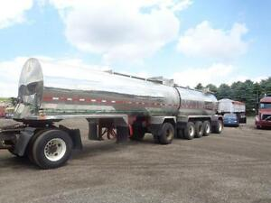 1987 HUTCHINSON 5 AXLE STAINLESS STEEL TANKER Kitchener / Waterloo Kitchener Area image 1