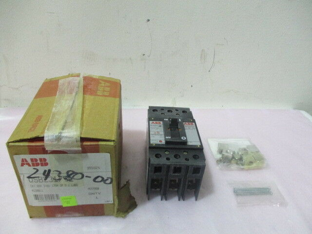 ABB QSB23175L, Circuit Breaker 240V, 175 AMP 3 Phase. 419498