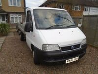 FIAT DUCATO DROPSIDE TRUCK(NOT TIPPER) 2006, DIESEL, MOT, READY TO WORK