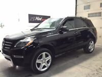 2014 Benz M-Class 350 4Matic Bluetec Premium Sport packages +
