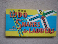 Ludo and Snakes and Ladders set in box