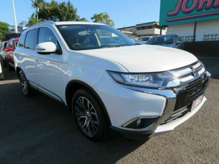 2017 Mitsubishi Outlander ZK MY17 LS 2WD White 6 Speed Constant Variable Wagon Mount Gravatt Brisbane South East Preview