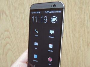 * Unlocked Gorgeous HTC One M8 32GB Metallic Grey (Like new)