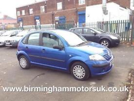 2003 (03 Reg) Citroen C3 1.4 HDI DESIRE 5DR Hatchback BLUE + LOW MILES