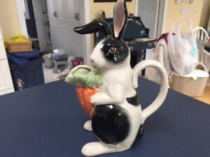 Fitz and Floyd Bunny Pitcher