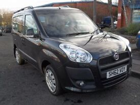 FIAT DOBLO 1.4 MYLIFE 5d 95 BHP Full Service History! Low Mil (black) 2012