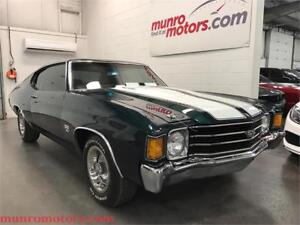 1972 Chevrolet Chevelle SS 396 Cowl Induction