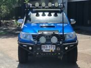 2014 Toyota Hilux KUN26R MY14 SR5 (4x4) Blue 5 Speed Automatic Dual Cab Pick-up Eagle Farm Brisbane North East Preview