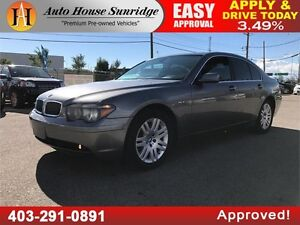 2004 BMW 7 Series 745i HEATED LEATHER, ROOF, RWD,