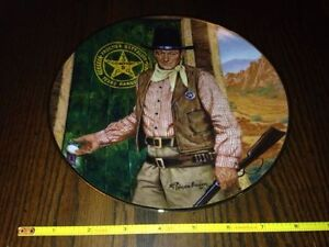 John Wayne plate collection and steins