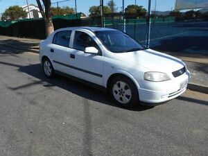 2003 Holden Astra TS MY03 CD White 4 Speed Automatic Sedan Somerton Park Holdfast Bay Preview