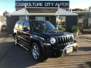 2013 Jeep Patriot MK MY12 Sport (4x2) Blue 6 Speed CVT Auto Sequential Wagon Morayfield Caboolture Area Preview
