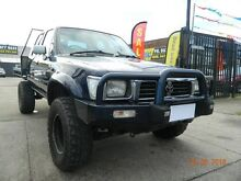 1996 Toyota Hilux SR5 Blue 5 Speed Manual Dual Cab Williamstown North Hobsons Bay Area Preview