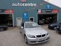 BMW 3 SERIES 2.0 318I SE TOURING 5d 128 BHP ESTATE (silver) 2006
