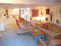 Beautiful  Furnished Suite in Fairfield – October 1 for 6 months