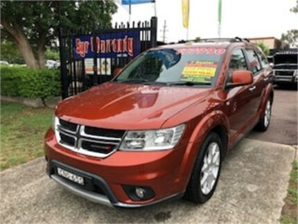 2013 Dodge Journey JC MY14 R/T Bronze Automatic Wagon Edgeworth Lake Macquarie Area Preview