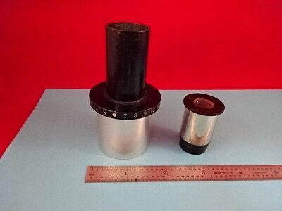 Leitz Wetzlar Germany Camera Adapter Ocular Microscope Part Optics R3-a-08