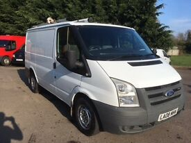Ford transit short wheel base van ex bt 2008 full history