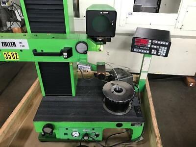 Zoller Parlec V600 Tool Pre-setter Tool Measurement System With 50 Taper Adapter