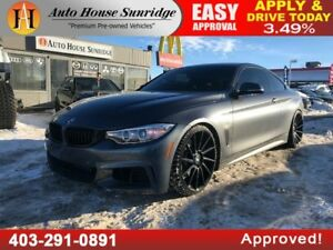 2014 BMW 4 Series 435i xDrive M-PACKAGE NAVI BCAM AWD SUNROOF