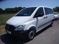 MERCEDES VITO 113 CDI TRAVELINER - 9 SEATS - AUTO White Auto Diesel, 2012