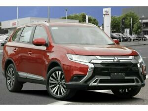 2018 Mitsubishi Outlander ZL MY18.5 LS AWD Red 6 Speed Constant Variable Wagon