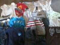 Baby boy clothes gently worn 3-6mnth