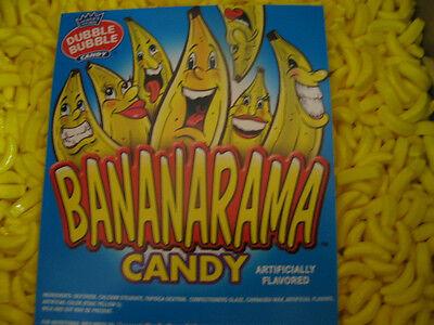 Bananarama Candy Coated Banana Shaped Candy 2 lbs Dubble Bubble Concord Nut - Banana Shaped Candy