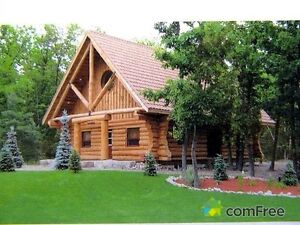 Grand Bend Log Home For Rent for Christmas vacation!