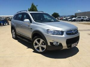 2013 Holden Captiva CG MY13 7 AWD LX Silver 6 Speed Sports Automatic Wagon Garbutt Townsville City Preview