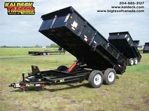 BIG TEX 14LX 83''x14' Dumpbox with Tarp & Spare Tire