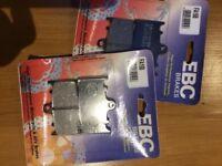 EBC Brake pads FA 158
