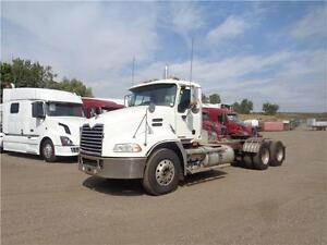 2008 MACK CXU613 HEAVY SPEC DAYCAB, HYDRAULIC WETLINE