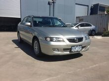 2002 Mazda 626 Eclipse Silver 4 Speed Automatic Sedan Spotswood Hobsons Bay Area Preview