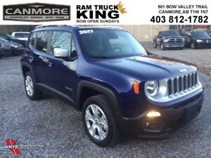 2017 Jeep Renegade | LEATHER | MY SKY | LOADED | LOW KMS | Limit
