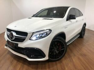 2015 Mercedes-Benz GLE63 C292 AMG Coupe SPEEDSHIFT PLUS 4MATIC S White 7 Speed