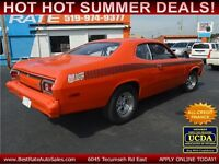 1974 Plymouth Duster Coupe :: HI-PERFORMANCE, DREAM CRUISE READY