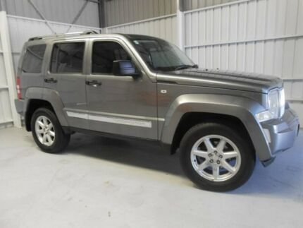 2012 Jeep Cherokee KK MY12 Limited Grey 5 Speed Sports Automatic Wagon Ingle Farm Salisbury Area Preview