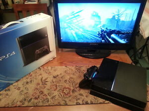 PLAYSTATION PS4 500GB & BATTLEFIELD ONE FULLY INSTALLED IN BOX