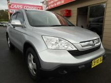2009 Honda CR-V MY07 (4x4) Silver 5 Speed Automatic Wagon Edgeworth Lake Macquarie Area Preview