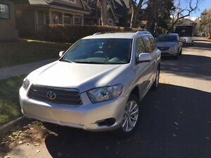 2010 Toyota Highlander Hybrid, Winter Tires, PRIVATE SALE NO GST