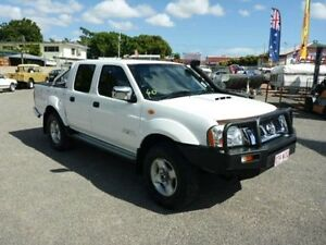 2012 Nissan Navara D22 S5 ST-R White Manual Utility Townsville Townsville City Preview
