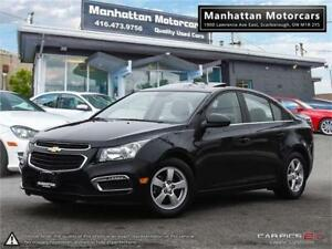2016 CHEVROLET CRUZE 2LT AUTO|PHONE|ROOF|CAMERA|LEATHER|WARRANTY
