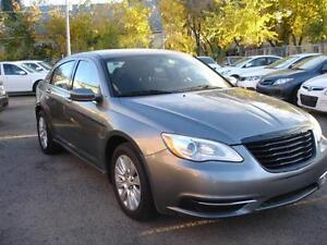 2013 CHRYSLER 200 AUTO LOADED 86K-100% APPROVED FINANCING!