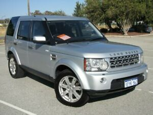 2009 Land Rover Discovery 4 Series 4 10MY TdV6 CommandShift SE Silver 6 Speed Sports Automatic Wagon Maddington Gosnells Area Preview
