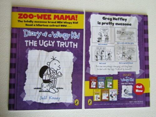 Diary+of+a+Wimpy+Kid++The+Ugly+Truth+%7E+Match+supplement++Book+-+Comic+2010+%28e19%29